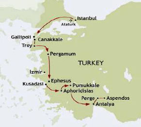 Highlights Of Turkey Tour