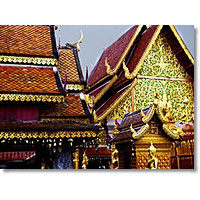 Doi Suthep Temple And Handicraft Village