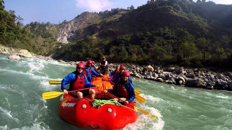 Seti River Rafting Tour