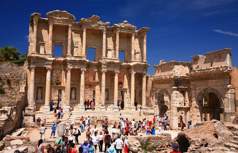 11 Day Istanbul Gallıpolı Troy Ephesus Pamukkale Cappadocıa By Bus Tour Package