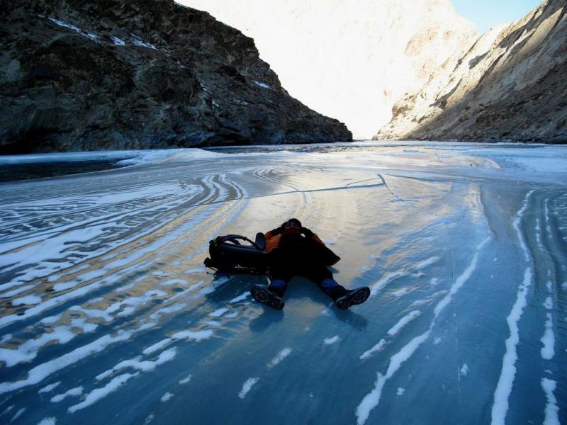 Frozen River Chandar Trekking In Ladakh