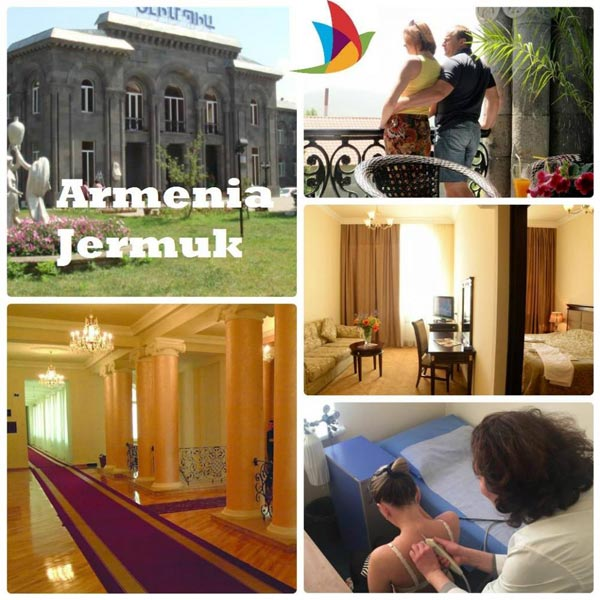 Package Of Jermuk Olympia Sanatorium 4*