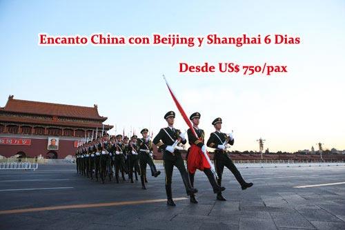 Encanto China Con Beijing Y Shanghai 6 Dias Tour