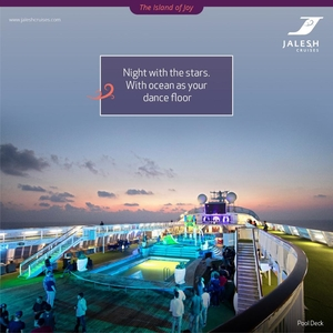 Mumbai- Goa Jalesh Cruise - Konkan Coast Escapade 2n 2 Nights / 3 Days Mumbai (1n)  Goa (1n)  Honeym