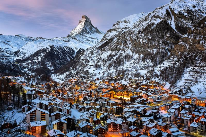 Enchanting Switzerland With Glacier Express Tour 5 Nights / 6 Days Tour