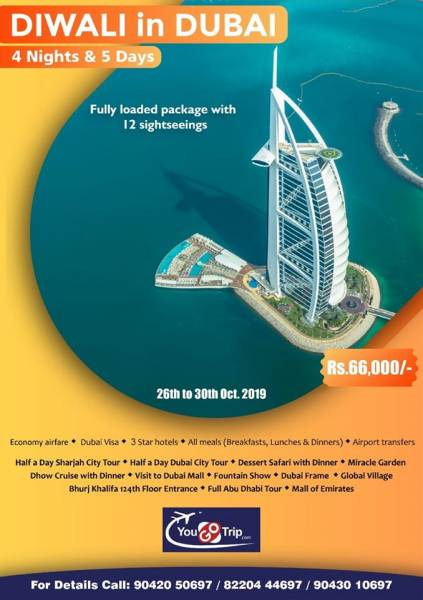 Dazzling Dubai 4 Nights & 5 Days Tour
