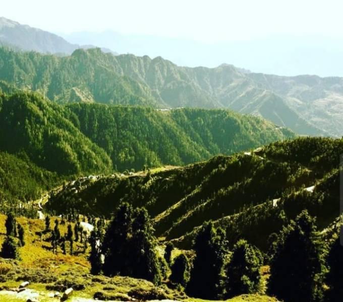 Chanjwala Peak Camping