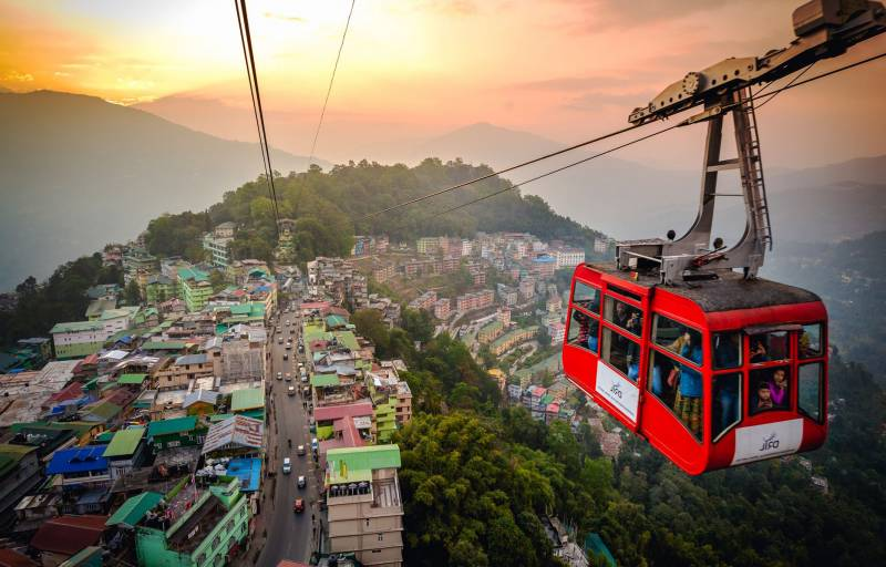 GANGTOK WITH YUMTHANG VALLEY TOUR