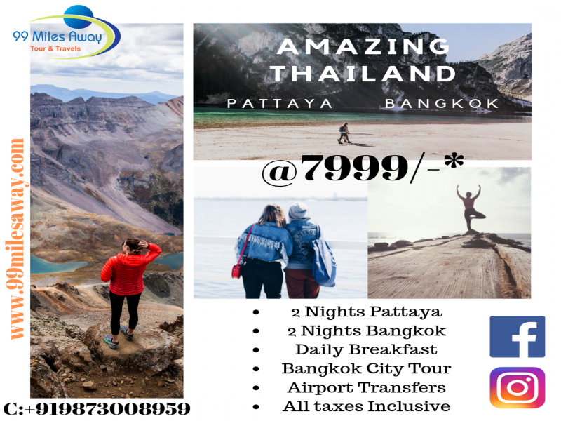 Amazing Thailand 4nights 5days Tour