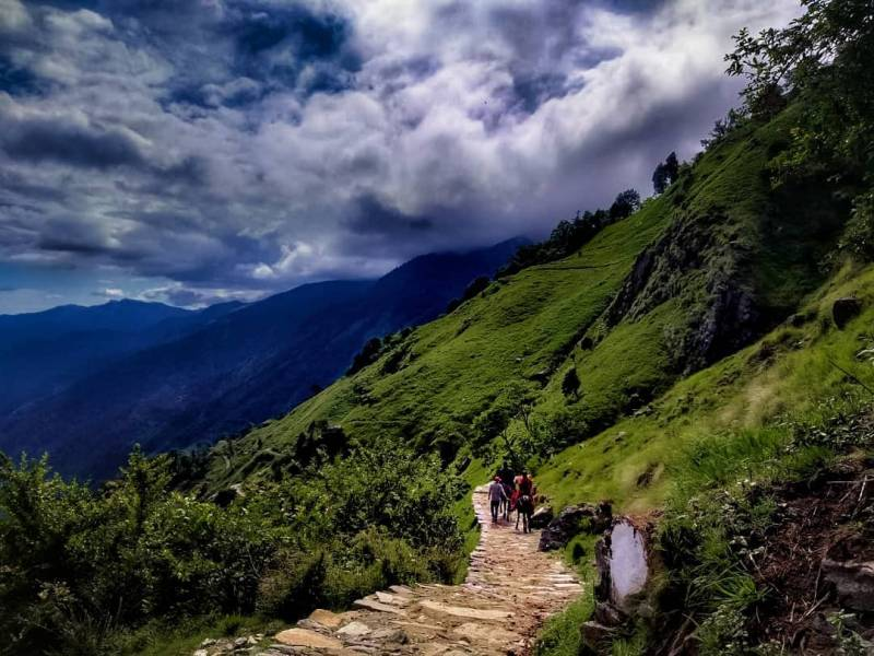 Way To Madhyamaheshwar Trek Packages