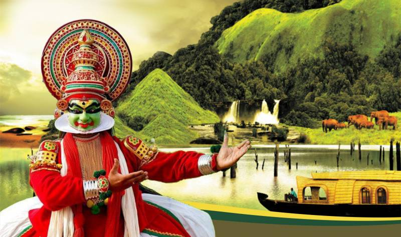 Kerala God Own Country   – 06 Night / 07 Days Tour