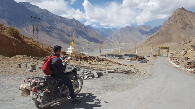 Spiti Valley Bike Trip – 9 Days Tour