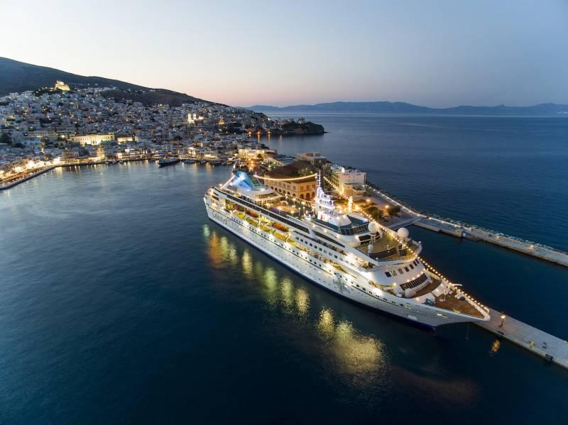 4 Days Greek Island Cruises Tour