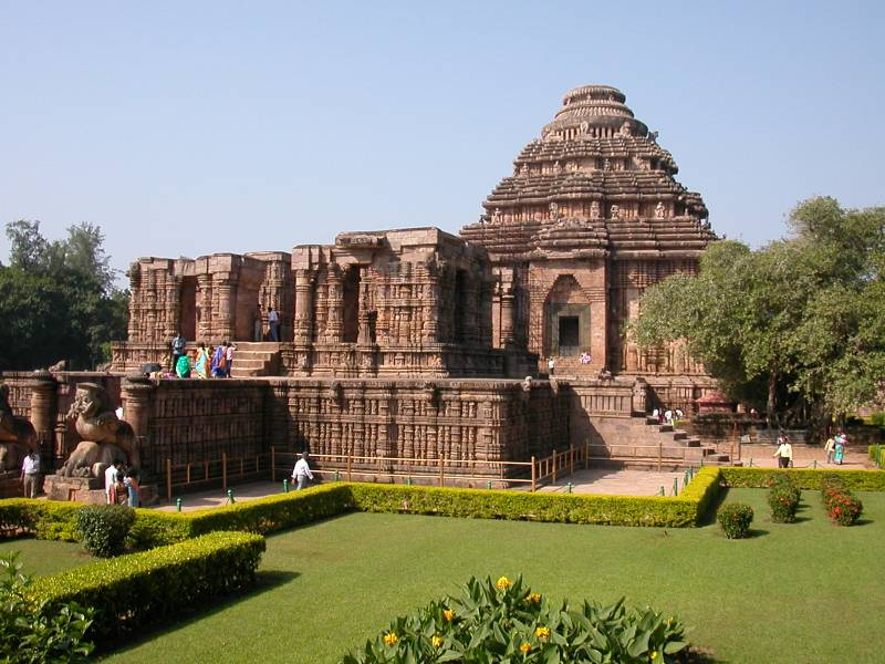 Bhubaneswar And Puri, Konark Tour