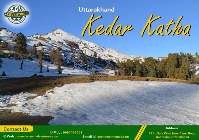 4 Nights 5 Days Kedarkantha Winter Trek