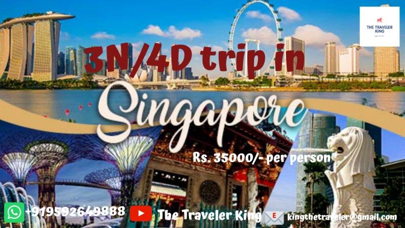 3N/4D Singapore Trip