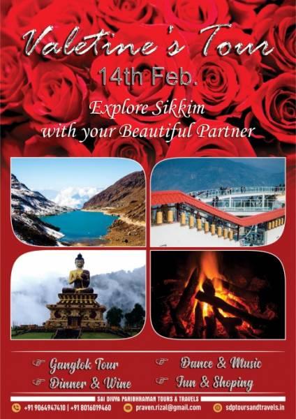 Valentine Day Special Sikkim Tour