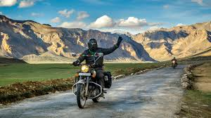 Ladakh Motor Bike Expedition Tour