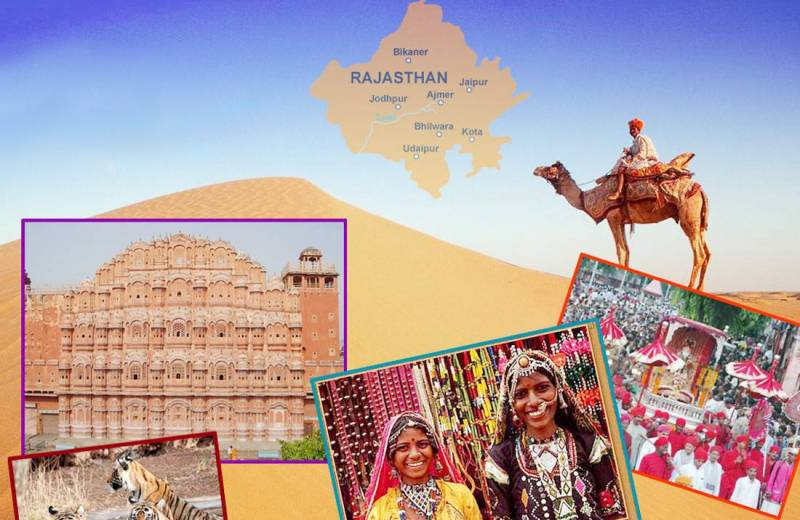 Rajasthan With Taj Mahal Tour Package