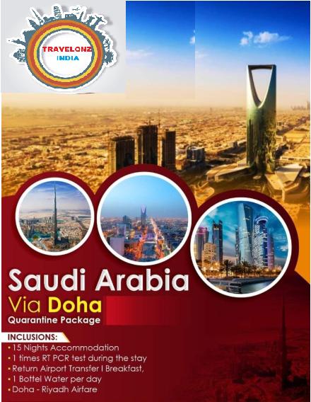 Saudi Arabia Via Doha Quarantine Package