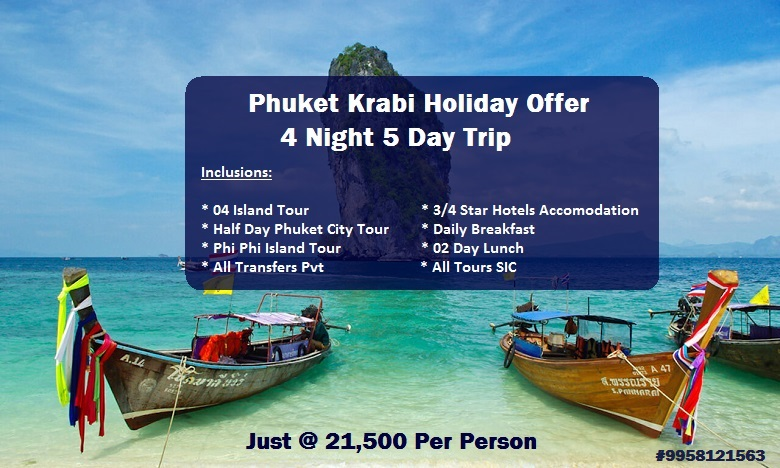 4 Night 5 Day Phuket Krabi