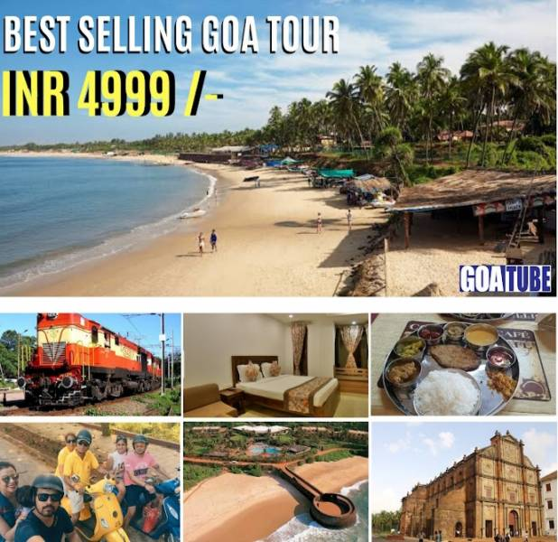 2 Nights 3 Days Coimbatore To Goa Package