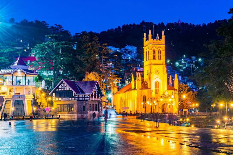 Capital City Shimla Packages( Volvo) Starts With Duration: 04 Nights / 05 Days