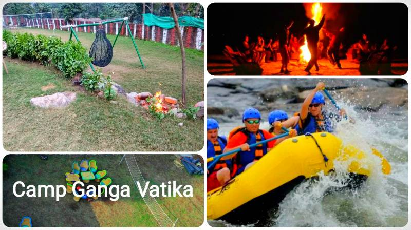 Camping In Rishikesh At Camp Ganga Vatika : Nature Camps Near River