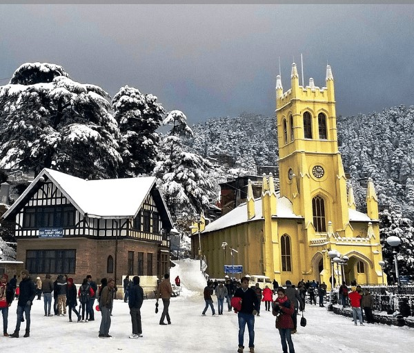 Chandigarh Shimla 4 Nights 5 Days Tour