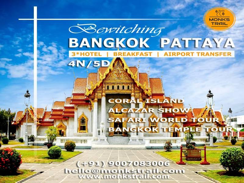 Bangkok Pattaya 5 Days Tour Package