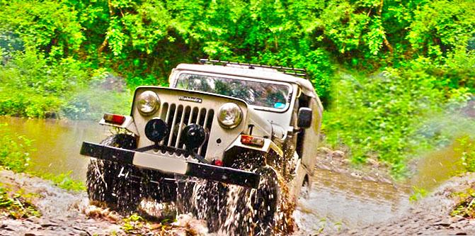 Megamalai Jeep Safari Trip