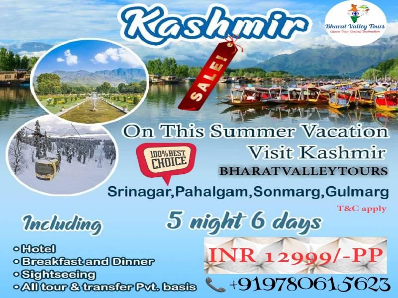 5N/6D Kashmir Tour