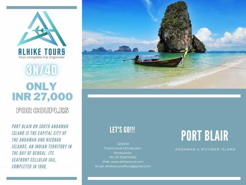 Port Blair Andaman & Nicobar Island Tour