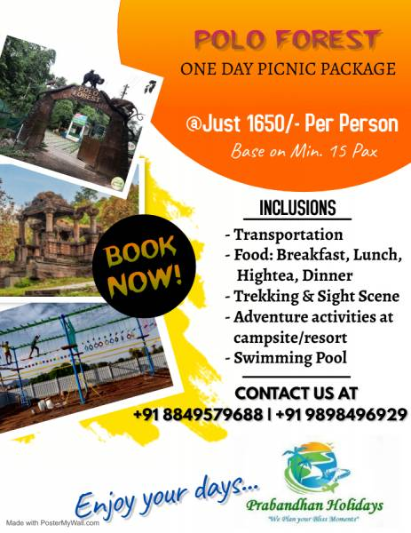 One Day  Picnic Package