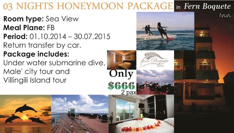 03 Nights Honeymoon Package Honeymoon Package