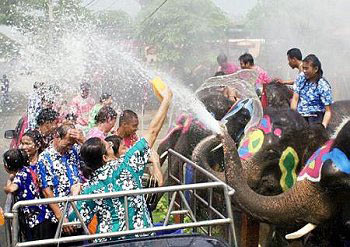 Songkran Water Festival, 12-16 April, 2013