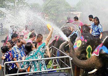 Songkran Water Festival, 12-16 April, 2013