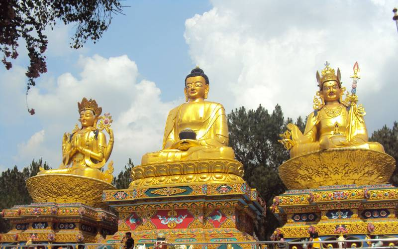 Golden Triangle Of Buddhism Package