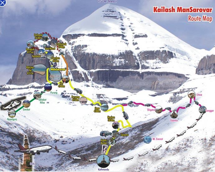 Tour To Kailash Mansarovar Package