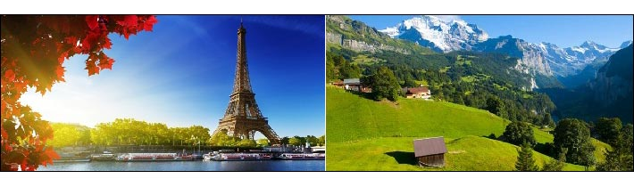 Best Of Switzerland And Paris Ex New Delhi