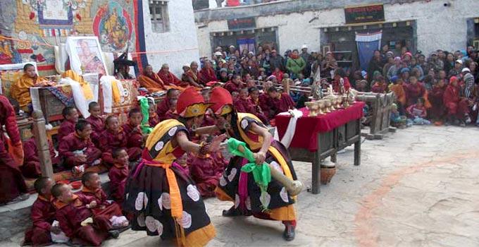 Tiji Festival Upper Mustang (Lo-Manthang), Tjii Festival Trek