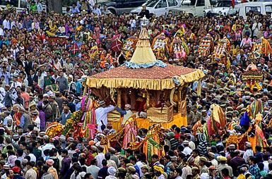 The Rath Yatra Of Lord Raghunathji