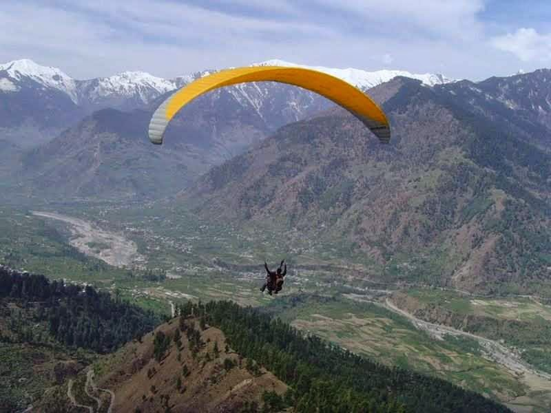 Paragliding & Camping In Himachal Tour