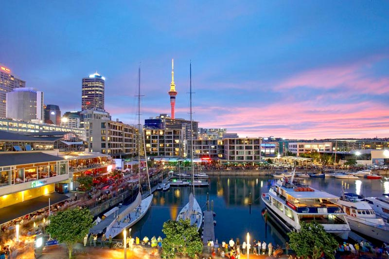 Vibrant New Zealand Package