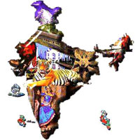 42 Days India Panorama Tour Package