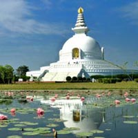 Temple Tour with Footprint of Lord Buddha