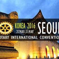 2016 Rotary Int'l Seoul, Korea package