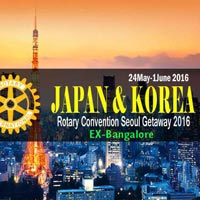 Rotary Convention Seoul Gateway - Japan 9Days Tour