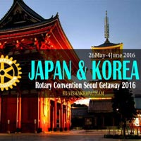 Rotary Convention Seoul Getaway - Japan & Seoul Tour