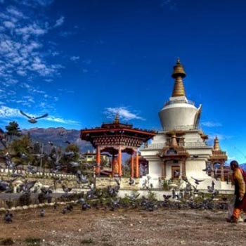 Vayubhutan – 002  Royal Kingdom Of Bhutan ( 5 Nights / 6 Days ) Tour